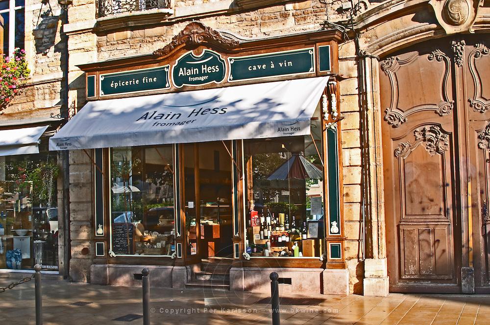 fine food and cheese shop alain hess pl carnot beaune cote de beaune burgundy france