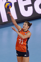 09-01-2016 TUR: European Olympic Qualification Tournament Rusland - Nederland, Ankara<br /> De strijd om Rio of Japan / Anne Buijs #11