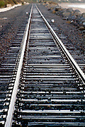 Train Tracks Along the  Coast of San Clemente