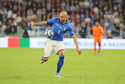 June 4, 2018 - Turin, Piedmont, Italy - Simone Zaza (Italy) in action during the friendly football match between Italy and Holland at Allianz Stadium on June 04, 2018 in Turin, Italy. Final result: 1-1  (Credit Image: © Massimiliano Ferraro/NurPhoto via ZUMA Press)