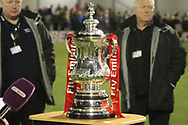 THE FA Cup during the The FA Cup match between Slough Town and Rochdale at Arbour Park, Slough, United Kingdom on 4 December 2017. Photo by Daniel Youngs.