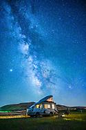 Under the Milky Way in southern Idaho near Sun Valley, ID.