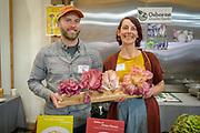 Radicchio, Cichorium intybus Showcase: Chioggia, Variegata di Lusia, Treviso<br /> Seeds Farmers: Wild Roots Farm