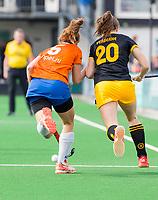 BLOEMENDAAL - hockey - Competitie Landelijk meisjes : Bloemendaal MB1-Den Bosch MB1 (1-1). COPYRIGHT KOEN SUYK
