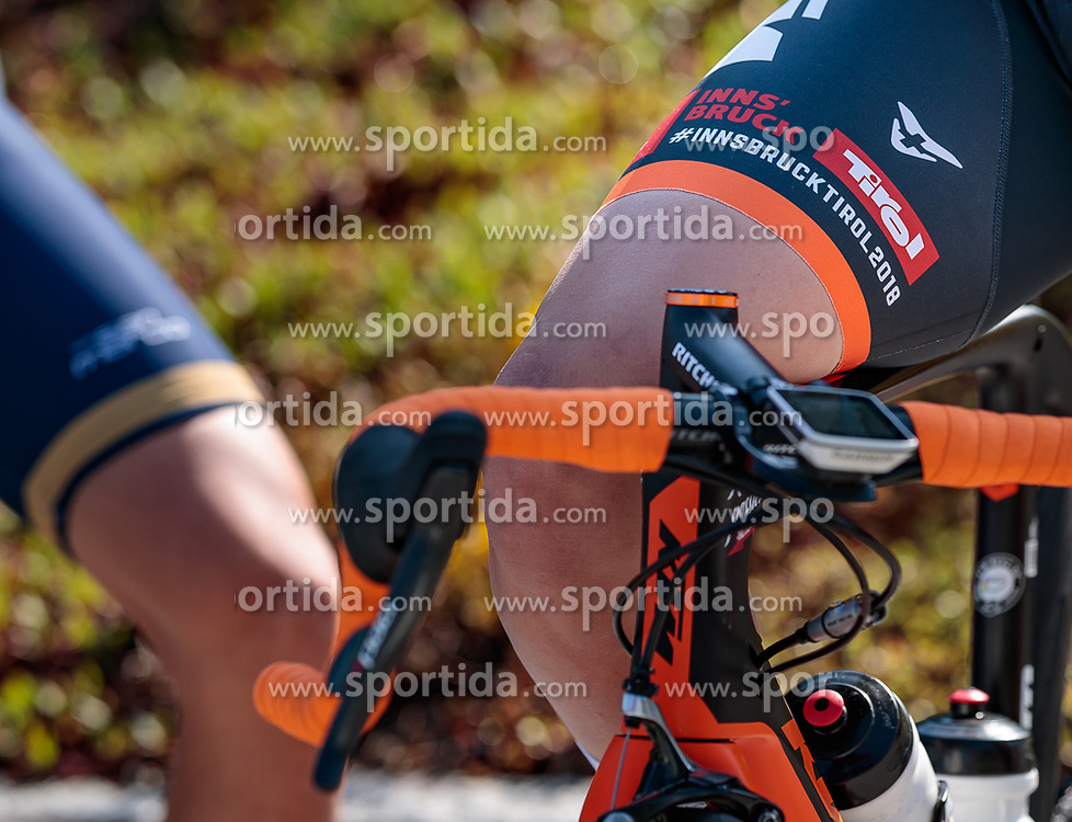 25.04.2018, Bad Häring, AUT, ÖRV Trainingslager, UCI Straßenrad WM 2018, im Bild Feature Logo // during a Testdrive for the UCI Road World Championships in Bad Häring, Austria on 2018/04/25. EXPA Pictures © 2018, PhotoCredit: EXPA/ JFK