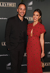 """Premiere Of Spectrum's Originals """"L.A.'s Finest"""" at The Sunset Tower Hotel in West Hollywood, California on 5/10/19. 10 May 2019 Pictured: Jessica Alba, Joshua Alba. Photo credit: River / MEGA TheMegaAgency.com +1 888 505 6342"""