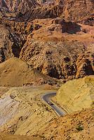 Canyon near Petra, Jordan.