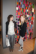 BELLA FREUD; FRANCES COSTELLOE, Smythson Sloane St. Store opening. London. 6 February 2012.