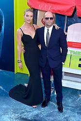 August 6, 2018 - Los Angeles, Kalifornien, USA - Rosie Huntington-Whiteley mit Lebenspartner Jason Statham bei der Premiere des Kinofilms 'The Meg' im TCL Chinese Theatre. Los Angeles, 06.08.2018 (Credit Image: © Future-Image via ZUMA Press)