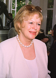LADY ANTONIA FRASER at a party in London on 18th May 1998.MHP 11