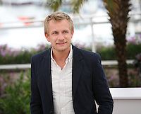 Jérémie Renier at the Elefante Blanco film photocall at the 65th Cannes Film Festival. Monday 21st May 2012 in Cannes Film Festival, France.