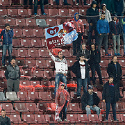 Trabzonspor's and Gaziantepspor's during their Turkish Super League match Trabzonspor between Gaziantepspor at the Avni Aker Stadium at Trabzon Turkey on Wednesday, 28 October 2015. Photo by Aykut AKICI/TURKPIX