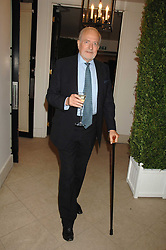 CLAUS VON BULOW at a party to celebrate the 60th anniversary of House & Garden magazine held at Bonhams, 101 New Bond Street, London on 4th October 2007.<br />