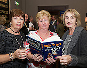03/11/2016 Repro fee: Rita Gilligan's book The Rock 'n' Roll Waitress from The Hard Rock Cafe My Life in Hotel Meyrick, Galway was launched my Cllr. Noel Larkin Mayor of Galway. At the launch were   Breidie Costello Newcastle, Kathleen Cooke Prospect Hill, and Helen Rabbitte Bohermore Photo :Andrew Downes, XPOSURE