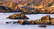 Rocky coastline at Soberanes Point, Garrapata State Park, Big Sur, California USA