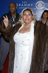 © L. Hahn/N. Khayat/ABACA. 42663-210. New York City-NY-USA. 23/02/2003. Aretha Franklin during the 45th Annual Grammy Awards at the Madison Square Garden.
