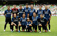 30 July 2011; The Inter Milan team. Dublin Super Cup, Inter Milan v Glasgow Celtic FC, Aviva Stadium, Lansdowne Road, Dublin.