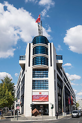 Willy Brandt building the Berlin SPD Federal Head Office Germany