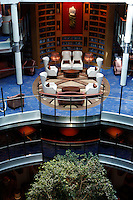 Celebrity Silhouette. .Interior feature photos..Library..