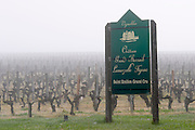 sign fog ch gd barrail lamarzelle figeac saint emilion bordeaux france