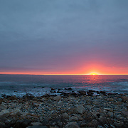 Today's white winter sunrise at Narragansett Beach, Narragansett  Rhode Island  February  26, 2013.