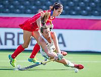 ANTWERPEN -  Ireland-Russia (3-2) . Belfius Eurohockey Championship (women) hockey.  WSP/ KOEN SUYK