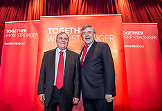 Gordon Brown and John Prescott | KIrkcaldy | 13 May 2017
