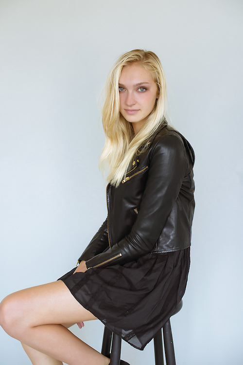 Photoshoot of a fashion model from apm models agency in New York City
