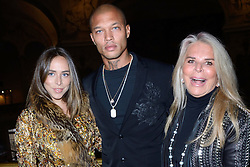 Chloe Green, Jeremy Meeks and Tina Green attending the Ralph and Russo show as part of Paris Haute Couture Fashion Week Spring/Summer 2018-2019 on January 22, 2018 in Paris, France. Photo by Aurore Marechal/ABACAPRESS.COM