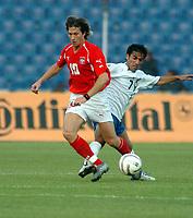 Fotball<br /> VM-kvalifisering<br /> Polen v Aserbaijan / Azerbaijan<br /> Foto: Wrofoto/Digitalsport<br /> NORWAY ONLY<br /> <br /> Miroslaw Szymkowiak - Polen<br /> Rashad Abdullayev - Aserbaijan
