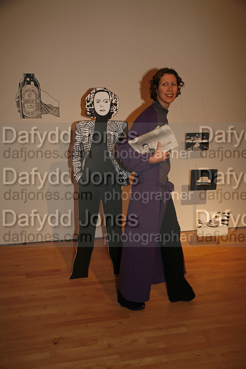 Valeria Napoleone, Becks Futures art prize, Institute of Contemporary arts. London. 2 May 2006. ONE TIME USE ONLY - DO NOT ARCHIVE  © Copyright Photograph by Dafydd Jones 66 Stockwell Park Rd. London SW9 0DA Tel 020 7733 0108 www.dafjones.com