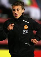 Fotball<br /> England <br /> Foto: SBI/Digitalsport<br /> NORWAY ONLY<br /> <br /> <br /> Dunfermline v Manchester United. Pre season Friendly.<br /> 08/08/2007. <br /> <br /> Magnus Wolff Eikrem of Utd