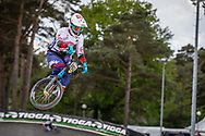 #993 (NAGASAKO Yoshitaku) JPN during round 3 of the 2017 UCI BMX  Supercross World Cup in Zolder, Belgium,