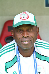 25.07.2010,  Augsburg, GER, FIFA U20 Womens Worldcup, , Viertelfinale, USA vs Nigeria,  im Bild Ndem EGAN (Coach Nigeria)  , EXPA Pictures © 2010, PhotoCredit: EXPA/ nph/ . Straubmeier+++++ ATTENTION - OUT OF GER +++++ / SPORTIDA PHOTO AGENCY