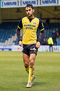 Scunthorpe United midfielder Levi Sutton (22) during the EFL Sky Bet League 1 match between Gillingham and Scunthorpe United at the MEMS Priestfield Stadium, Gillingham, England on 16 February 2019.
