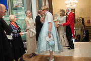 CHARLES SAUMERAZ SMITH; EILEEN COOPER; ; CHARLOTTE VERRITY; GRAYSON PERRY, Royal Academy Annual Dinner 2013. Piccadilly. London. 4 June 2013.