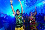 Deep Blue dance party, part of Sand Blast Weekend in Asbury Park, NJ.