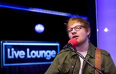 Ed Sheeran Radio 1 live session - 22 Feb 2017