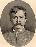 Henry Morton Stanley (1840-1904) born John Rowlands at Denbigh, Wales, Welsh-born American journalist and explorer.  From 'The Leisure Hour' (London, 1890).
