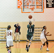 The Midpark girls varsity basketball team defeated visiting Westlake on February 9, 2011 to win the Southwestern Conference title.