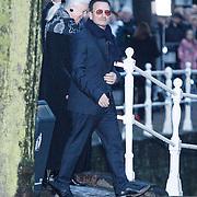NLD/Delft/20131102 - Herdenkingsdienst voor de overleden prins Friso, U2 zanger Bono en partner Alison Stewart