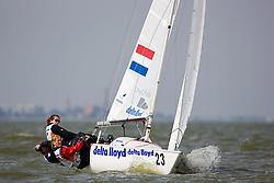 08_002662 © Sander van der Borch. Medemblik - The Netherlands,  May 24th 2008 . Day 4 of the Delta Lloyd Regatta 2008.