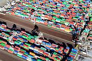 Nederland, Zuid-Holland, Rotterdam, 18-02-2015; Eerste Maasvlakte, Coloradoweg en Amazonehaven. ECT Delta Terminal, Europe Container Terminals.<br /> luchtfoto (toeslag op standard tarieven);<br /> aerial photo (additional fee required);<br /> copyright foto/photo Siebe Swart