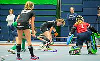 VIANEN - HGC-Push (v) .  Zaalhockey Den Bosch-Kampong.   COPYRIGHT KOEN SUYK