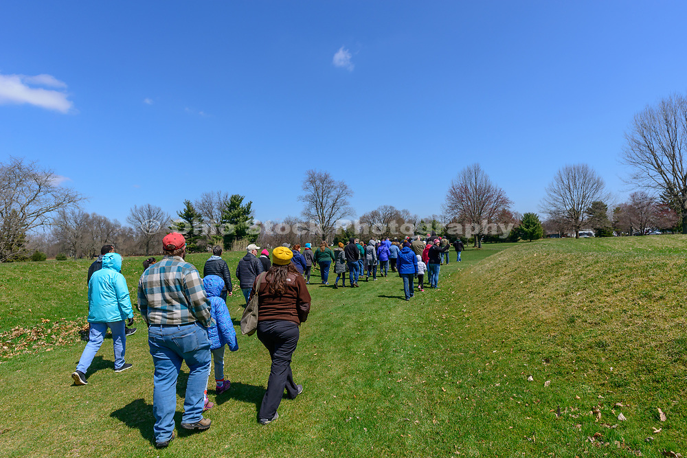 Octagon Earthworks Open House, at Octagon Earthworks in Newark, Ohio.