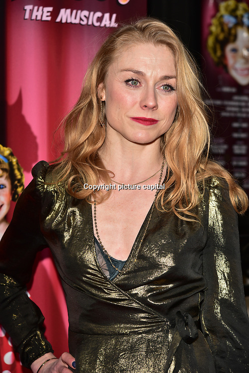 Laura Pitt-Pulford arrives at Ruthless! The Musical - Arts Theatre opening night on 27 March 2018  at Arts Theatre, London, UK.