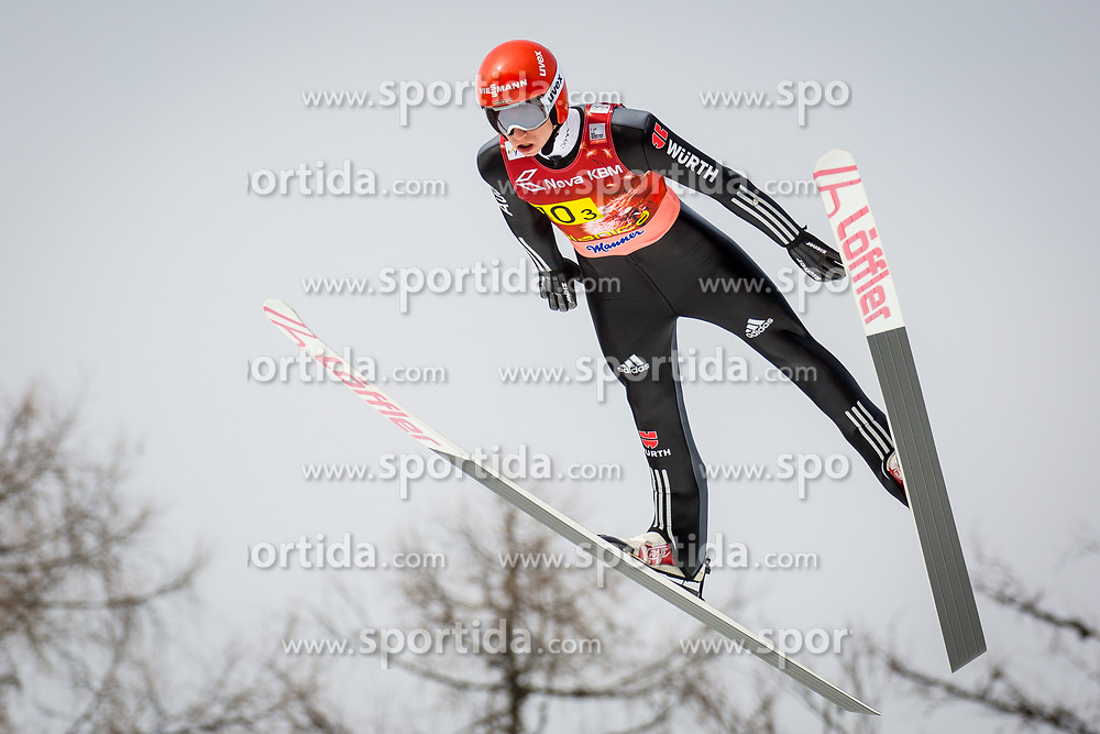 Karl Geiger (GER) during the Ski Flying Hill Men's Team Competition at Day 3 of FIS Ski Jumping World Cup Final 2017, on March 25, 2017 in Planica, Slovenia. Photo by Ziga Zupan / Sportida