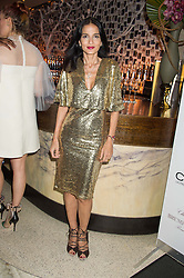 YASMIN MILLS at a party to celebrate the 10th anniversary of Nobu Berkeley Street held on 5th November 2015.