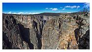 Black Canyon of the Gunnison National Park, Colorado, USA