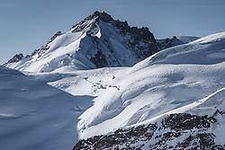 15.01.2020, Jungfrauenjoch, Wengen, SUI, FIS Weltcup Ski Alpin, Vorberichte, im Bild Gletscherhorn (3983m) // Gletscherhorn (3983m) during a preliminary reports prior to the FIS ski alpine world cup at the Jungfrauenjoch in Wengen, Switzerland on 2020/01/15. EXPA Pictures © 2020, PhotoCredit: EXPA/ Johann Groder **** ACHTUNG - dieses Bilddatei ist für den Grossformatdruck in einer maximalen Grösse mit mehr als 18142 x 6717 pixel (ca. 700 MB) verfügbar! Fragen Sie nach den hochauflösenden Daten // ATTENTION - This image file is for Large Format Printing available in a maximum size of more then 18142 x 6717 pixels (about 700 MB)! Ask for the high-resolution data. ****
